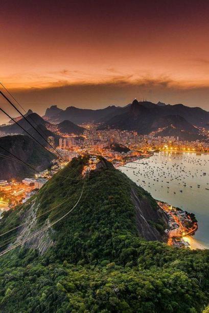 Stunning View Of Rio de Janeiro, Brazil